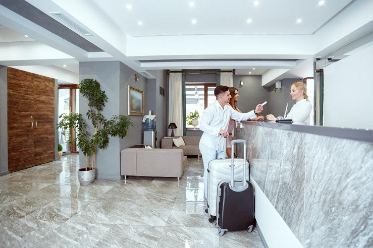 Cerradura inteligente para Sistema Hotel Hospitality