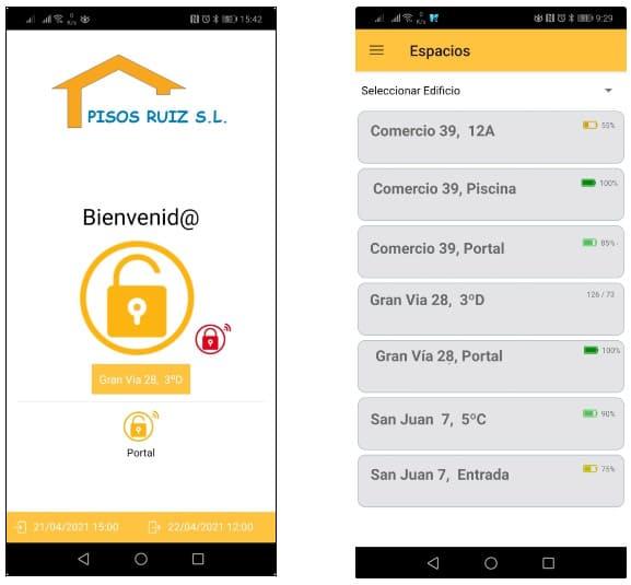 smart lock Cerraduras electronicas para pisos turisticos